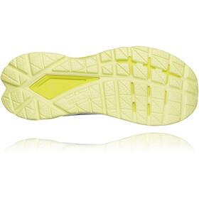 Hoka One One Mach 4 Shoes Women, blanco/amarillo